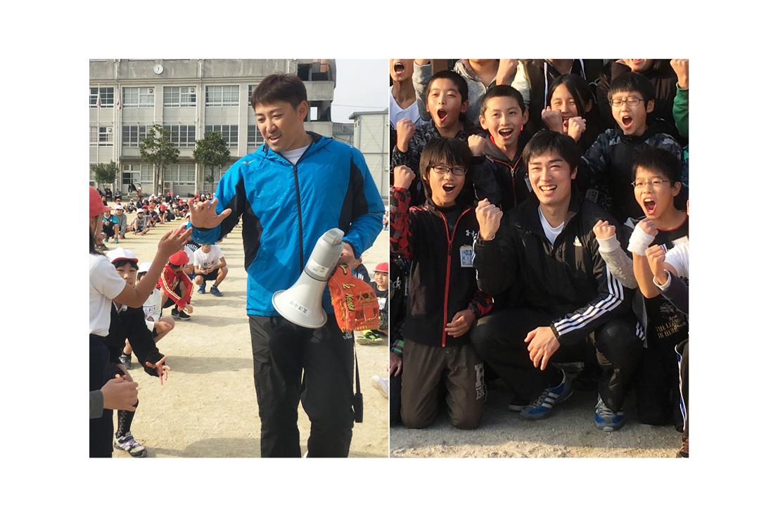 画像2: 12月8日、福岡市の玄洋小学校に内川聖一先生を迎えての夢の課外授業を行いました。内川先生を迎えると子どもたちか... lojim.jp