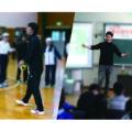 山下芳輝先生、堀潤先生をお迎えして夢の課外授業。