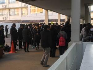 2016入試応援レポート~1/21千葉日本大学第一中学校(第1期)