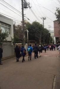 2016入試応援レポート~2/1駒場東邦中学校