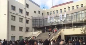 2016入試応援レポート~2/3東京都立富士高等学校附属中学校