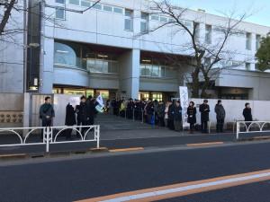 2017入試応援レポート~2/3鷗友学園女子中学校(第2回)